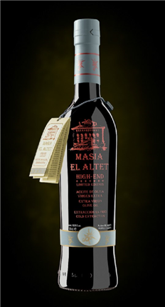 Masía El Altet. Aceite de oliva High End|FrutadeLaSarga