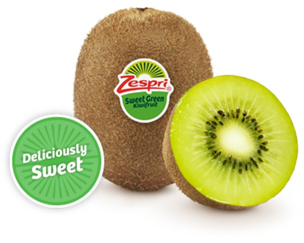 Kiwi Zespri Sweet Green